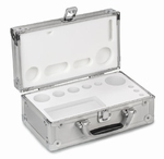 Aluminium box for weight sets E1~M1, 1 mg-100 g