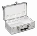 Coffret en aluminium pour jeux de poids E1~M1, 1 mg-200 g