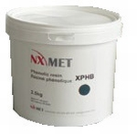 Transparent acrylic resin for hot mounting XACT 2.5 kg