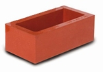3 rubber mounting cups XSIL, rectangular, 55x30x22 mm