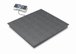 Floor scale BID, 300|600kg, 100|200g, 1000x1000 mm (M)