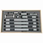 Set of inside micrometer 100~2100 mm, 0.01 mm