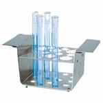 Test tube holder RG 2.2, 6 x Ø 30 mm, 6 x Ø 17 mm