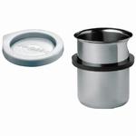 Insert beaker EB 05, stainless steel, 600 ml, Ø88 mm x 110 m