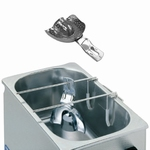 Rack stainless steel for cleaning of impression trays LT 102