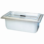 Insert tub KW 14, polypropylene, non-perforated & lid