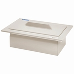 Insert tub KW 28-0, polypropylene, non-perforated & lid