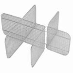 Separating strip TSA 6 for K 50 CA, stainless steel