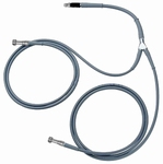 Glasfiber cold light cable, PVC shell, Øactive 2x3,5x1800 mm