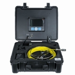 Video endoscope for pipes, Ø23 mm, L=40 m