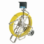 Video endoscope for pipes, Ø38 mm, L=120 m