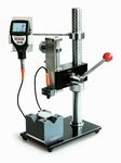 Lever test bench TJ for measuring the thickness of layers