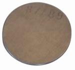 Set of standard test plate for hardnesstester BARCOL