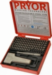 100 pieces set PRYOR Dotstress with hand holder , h=3.0 mm