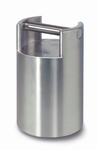 Stackable weight F1, polished inox, 10kg ± 50 mg