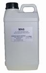 Bottle of 2 liters electrolyte MA6 for inox/alu