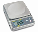 Compact stainless steel scale FOB, 1.5 kg/0.5 g, 175×165 mm