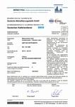 Certificate DKD voor vibration meter