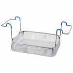 Insert basket with handles, stainless steel, K 10