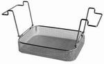 Insert basket with handles, stainless steel, K 10 B