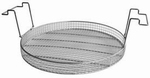 Insert basket with handles, stainless steel, K 40
