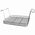 Insert basket with handles, stainless steel, K 50