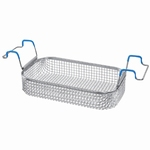 Insert basket with handles, stainless steel, K 3 C
