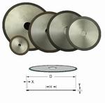 1 diamant cut-off wheels for plastics, Ø125x12,7x1.3x2 mm