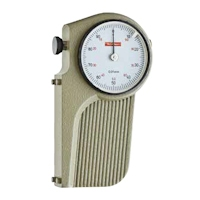 Saw setting dial gage