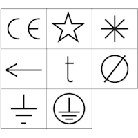 Poinçons symboles